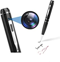 Spy Camera, Full 1080P Pen Camera for Recording and Taking Photos, Hidden Camera with..