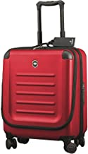 Victorinox Spectra 2.0 Extra Capacity Dual-Access Carry-On Hardside Spinner Suitcase, 21-Inch, Red