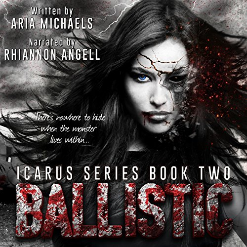 Ballistic audiobook cover art