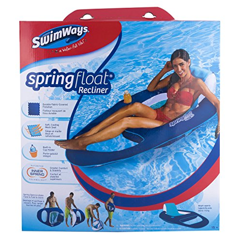 SwimWays 6038047 - Spring Float Recliner