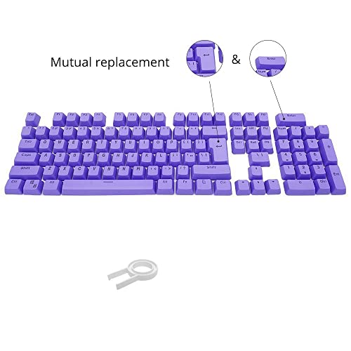 Bossi 104 Keys PBT Doubleshot Injection Keycaps Backlight Colors Replacement Keycaps for Mechanical Game Keyboard -