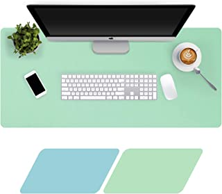 Levoit Desk Pad 60x30cm, Double-Sided Desk Mat, PU Leather Gaming Mouse Pad for PC Laptop, Waterproof Mouse Keyboard Mat, ...