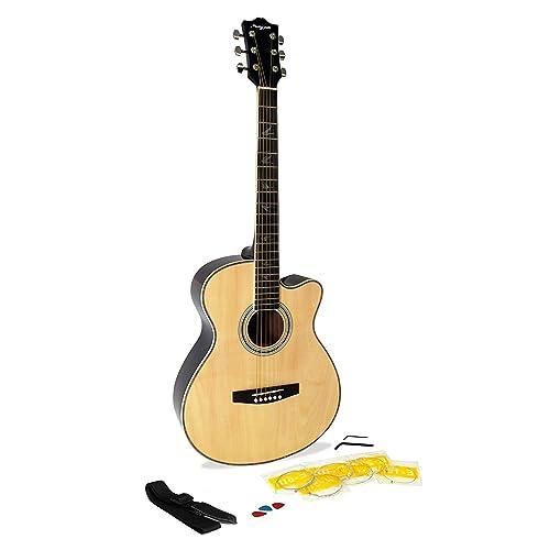 Martin Smith W-401E-N - Guitarra electroacústica, color natural
