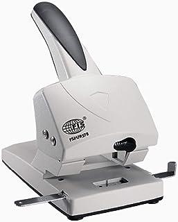 FIS 2 Hole Punch Heavy duty 70 Sheets Capacity, Black/Grey Color - FSPU9378