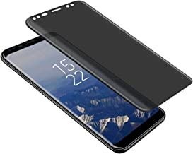 Galaxy Note 8 / Note 9 Privacy Screen Protector, LETANG Tempered Glass Anti Glare/Spy Anti-Scratch No Bubble 9H Hardness 3D Touch Compatible with Samsung Galaxy Note 8 / Note 9 (Transparent)