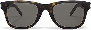 Luxury Fashion   Saint Laurent Womens SL51BSLIM003 Brown Sunglasses   Fall Winter 19