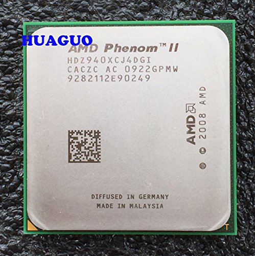 AMD Phenom II X4 940 Negro Edition 3 GHz Quad-Core de Escritorio procesador CPU hdz940 X cj4dgi Socket AM2 +