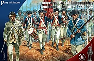 Perry Miniatures 28mm American War of Independence Continental Infantry 1776-1783 by Perry Miniatures