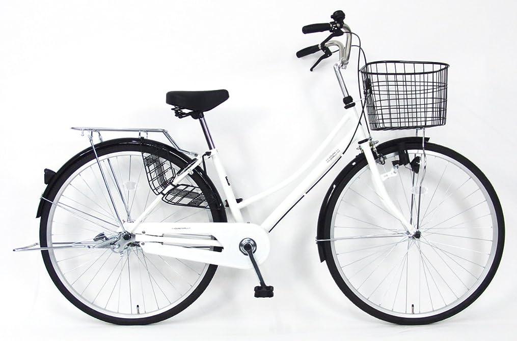 ヘビー急降下命令的C.Dream(シードリーム) テクノタウン TW71 27インチ自転車 シティサイクル ホワイト 100%組立済み発送