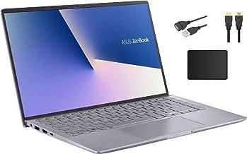 "ASUS ZenBook 14"" Full HD Widescreen LED Display Laptop Bundle Woov Accessory | AMD Ryzen 5 4500U | 8GB RAM | 256GB PCIe SS..."