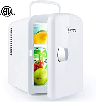 AstroAI Mini Fridge Portable AC/DC Powered Cooler