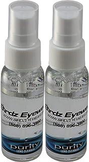 Two Bottles of Birdz Eyewear Amazing Purity Lens Cleaning Spray
