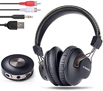 Avantree HT3189 Wireless Headphones for TV Watching w/ Bluetooth Transmitter, Support RCA, AUX 3.5mm Audio Out, NOT F...