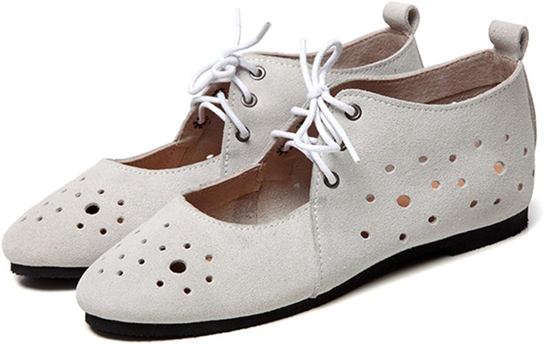 Dvärgar handgjorda mjukläder Flat skor kvinnor kvinnor kvinnor Lace up Dance skor  noll vinst