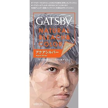 GATSBY(ギャツビー) ナチュラルブリーチカラー (医薬部外品) ハイトーン アクアシルバー 1個