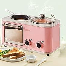 JJSFJH وعاء طهي للفرن الكهربائي 3 في 1، آلات صنع الخبز متعددة الوظائف، مقلاة كهربائية ساندويتش درجة حرارة ثابتة، قاعدة غير...