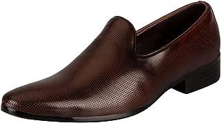 FAUSTO Men's Formal Slip On Shoes