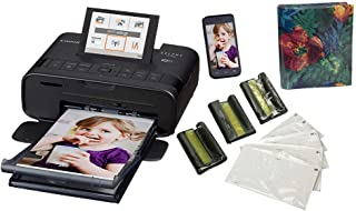 Canon SELPHY CP1300 Wireless Compact Photo Printer with AirPrint and Mopria Device Printing, Black