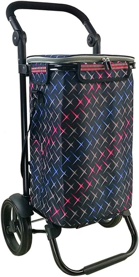 Xuejuanshop Shopping Carts Aluminum Alloy Shopping Cart 8 Inch W