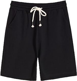 Donna Taglie Forti Nuovo Nero Bianco Pantaloni corti in vita con cordino Stretch Ragazze Da Donna