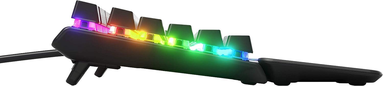 Steelseries Apex Pro Tastiera Meccanica da Gaming, Switch Meccanici con Attivazione Regolabile, Smart Display OLED, Layout Nordico (QWERTY)
