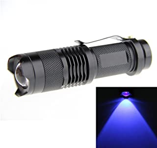 JOYLIT Blue light 465nm Mini Focus Tactical Waterproof Led Flashlight lantern