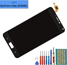 New Replacement LCD Screen Compatible with Asus Zenfone 4 MAX Pro ZC554KL X00lD LCD Touch Screen Display Assembly with Tools
