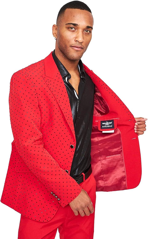 Marvel Red Jacket L/42 Pants 36