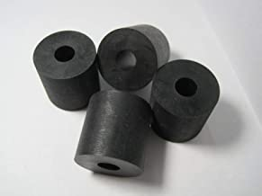 """Neoprene Rubber Washer Spacer 1-5//8/"""" OD x 7//8/"""" ID x 3//4/"""" thick"""