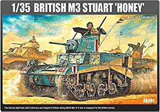 Academy 13270 BRITISH M3 STUART HONEY 1/35 TA991 Plastic Hobby Model Kit NEW /item# R6SG5EB-48Q31068