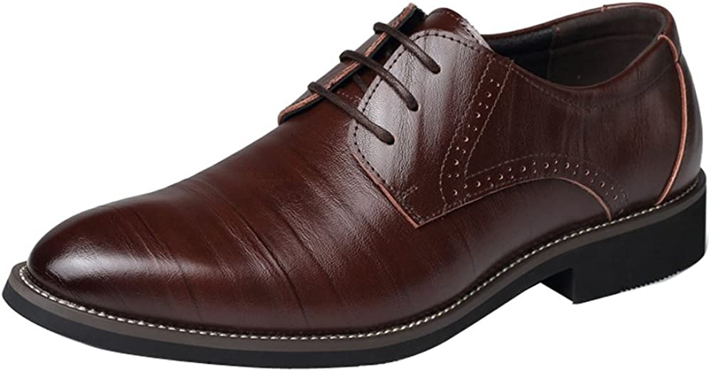 Mens Dress Shoes Oxford Shoes Lace Up Loafer Classic Modern Party Formal Business Shoes