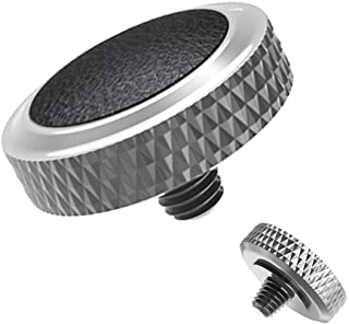 Soft Release Button JJC Black Silver Shutter Button Fit for Fuji Fujifilm X-T30 X-T20 X-T10 X-T3 X-T2 X-PRO1 X-PRO2 X100 X...