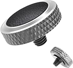 Soft Release Button JJC Black Silver Shutter Button Fit for Fuji Fujifilm X-T30 X-T20 X-T10 X-T3 X-T2 X-PRO1 X-PRO2 X100 X100S X100T X100F X30 X20 X10 X-E3 X-E2S Sony RX1R RX10 II III IV Leica M10 M-P