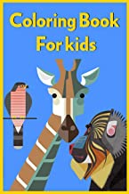 Coloring Books For kids: for kids 3-8 Age/coloring books animals / Sticker Kids /Coloring Gift Book/24 Pages
