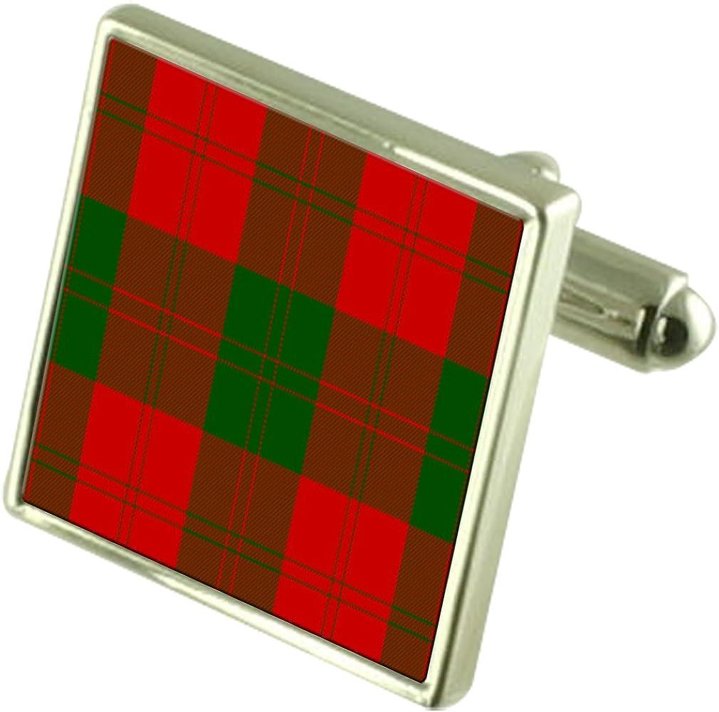 Select Gifts Tartan Clan Erskine Silver Max 41% OFF Financial sales sale Engra Cufflinks Sterling