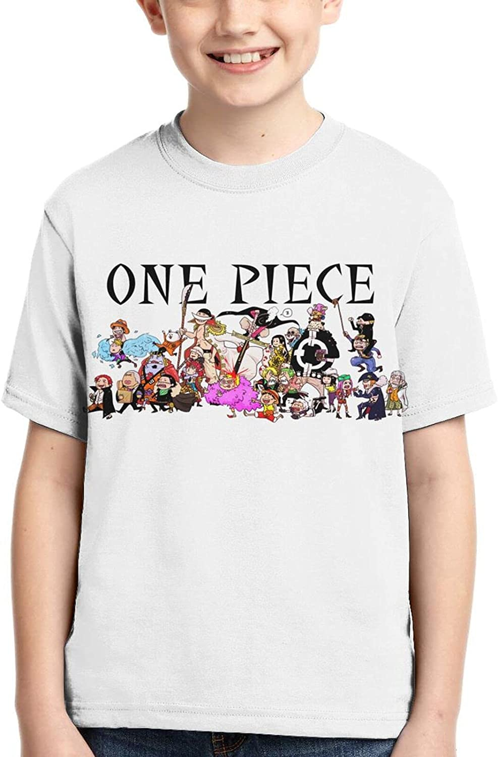 FANPANHE Deluxe One Piece Anime Fashion T-Shirts Free shipping Cool Trend Boy