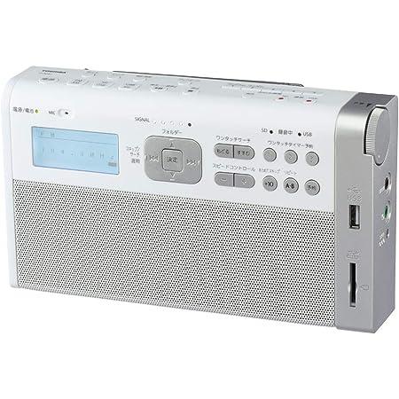東芝 ワイドFM/AMラジオ(ホワイト)TOSHIBA TY-RHR1-W