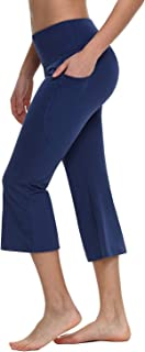 Best navy capri yoga pants Reviews