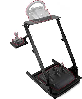 BEAMNOVA Racing Steering Wheel Stand for Logitech G25 G27 G29 G920, Thrustmaster T300RS, TX F458, T500RS (Wheel and Pedals Not Included)