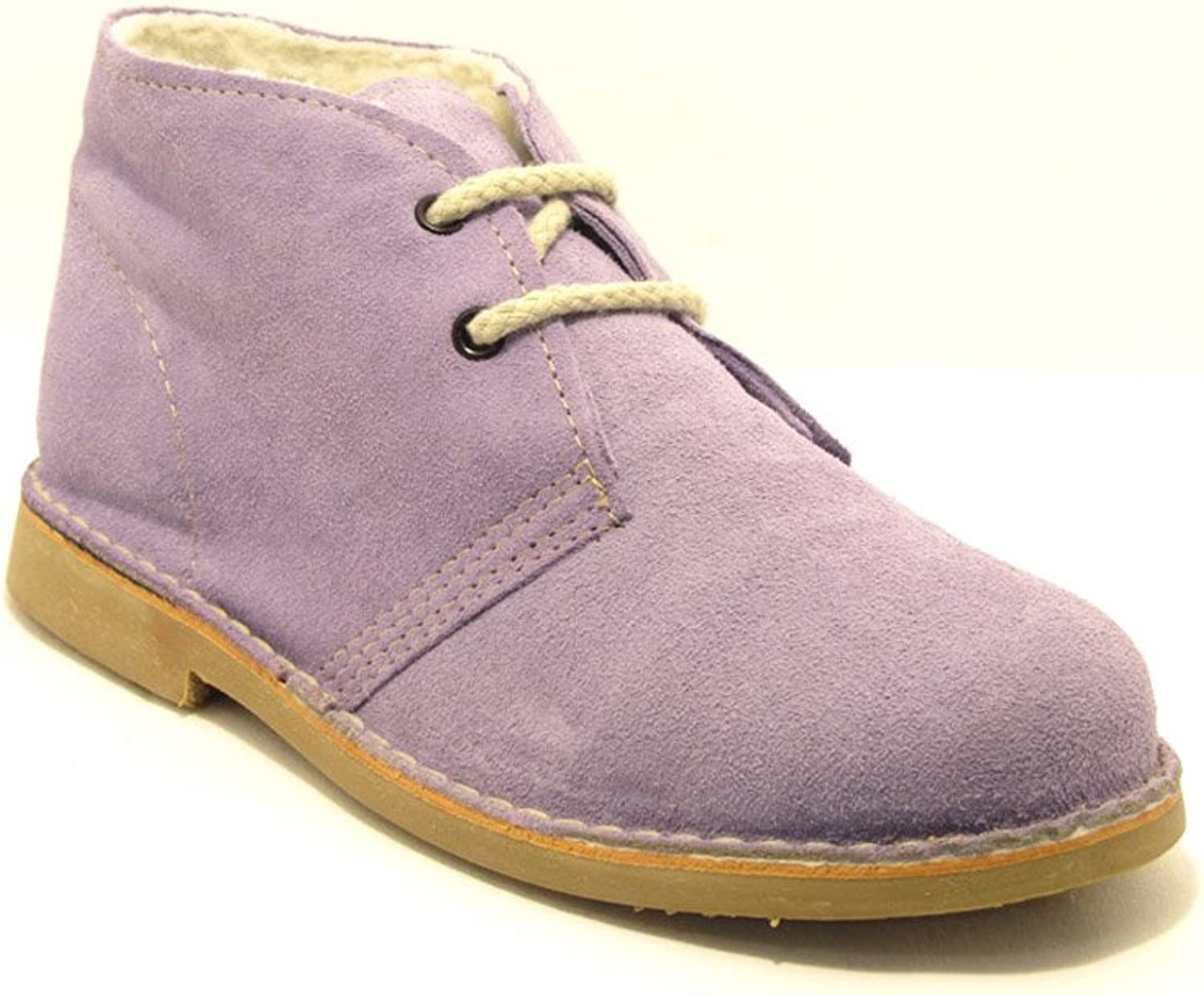 La Auténtica 807FB - Desert Boot Lined, Unisex Adult, purplec