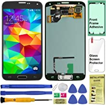 Display Touch Screen (AMOLED) Digitizer Assembly with Home Button for Samsung Galaxy S5..