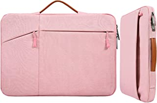 13 Inch Waterproof Laptop Briefcase Women Ladies Carrying Bag with Handle for Surface Book/Laptop 2018, Acer Aspire R13, D...