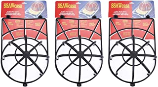 Hat Washer,3 Pack Ball Cap Washer for Washing Machine,Baseball Hat Washer,Cap Washer for Dishwasher,Hat Washer for Baseball Caps,Hat Cage for Washing,Cap Cleaning Frame Rack Protector (3 Black)