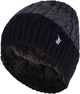 Heat Holders Malmo Thermal Cable Block Stripe Beanie
