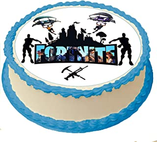 Amazoncom Fortnite Cake Toppers Frosting Icing