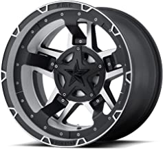 XD SERIES BY KMC WHEELS XD827 ROCKSTAR III Wheel with BLACK and Chromium (hexavalent compounds) (20 x 12. inches /8 x 124 mm, -44 mm Offset)