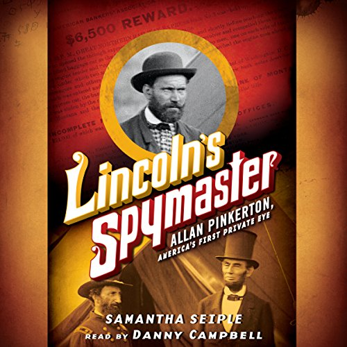Lincoln's Spymaster audiobook cover art