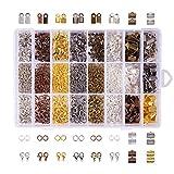 PandaHall Elite - Lot de 1 Boite Environ 2580pcs Kits d'accessoires de...