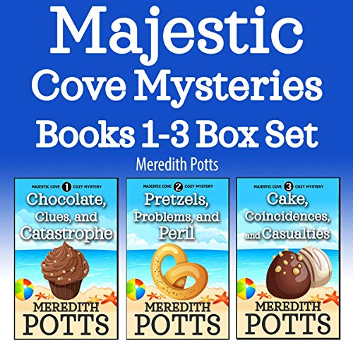 Majestic Cove Mysteries Books 1-3 Box Set  By  cover art