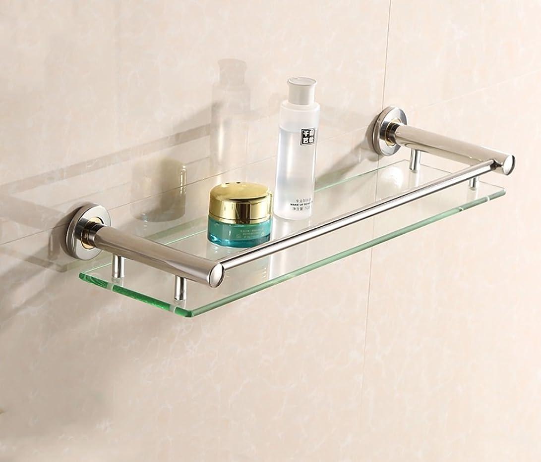 連邦トリッキーイブニングバスルームの棚 バスルームラック/強化ガラスシェルフ壁、